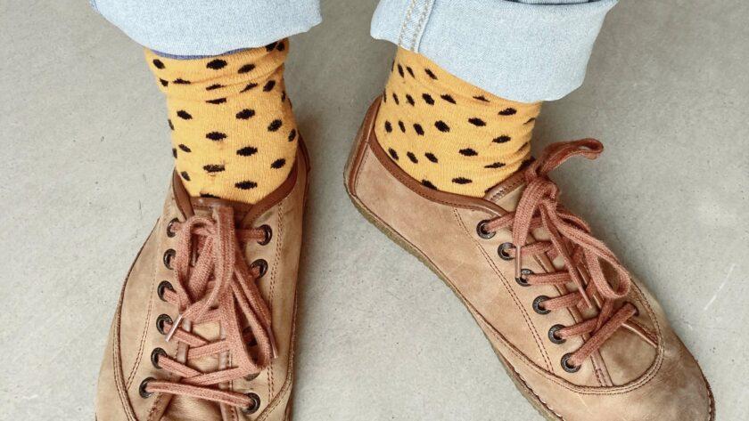 te grote schoenen